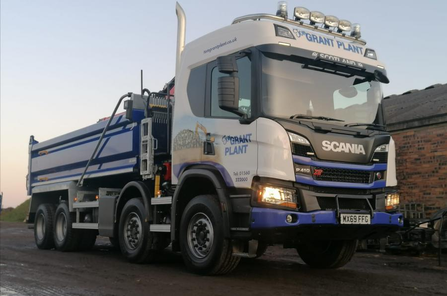 Scania to Scotland