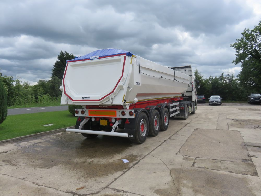 New Kel-Berg T100  Alloy Aggregate Tipping Trailer