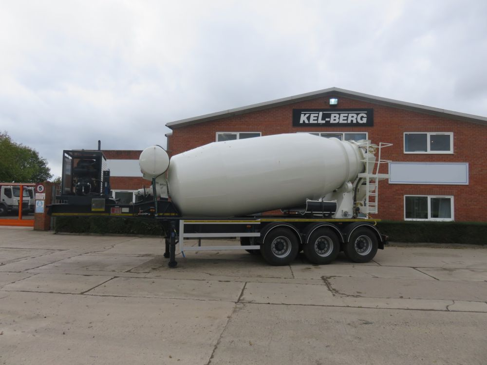 New Kel-Berg 12m3 Mixer Trailer on